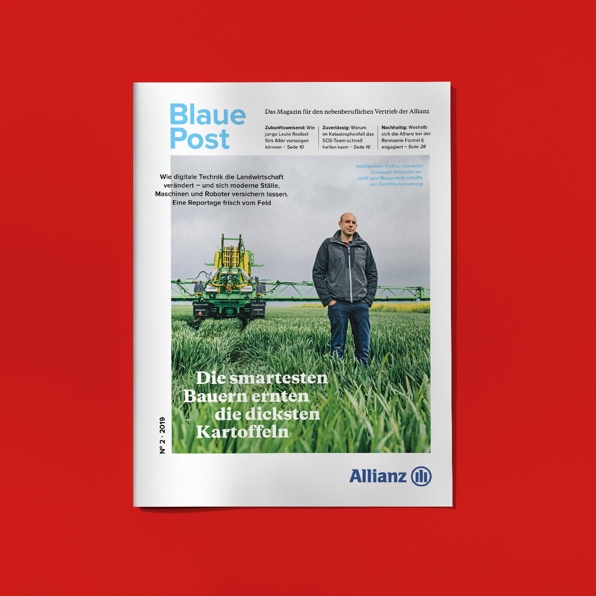 "Magazin ""Blaue Post"""
