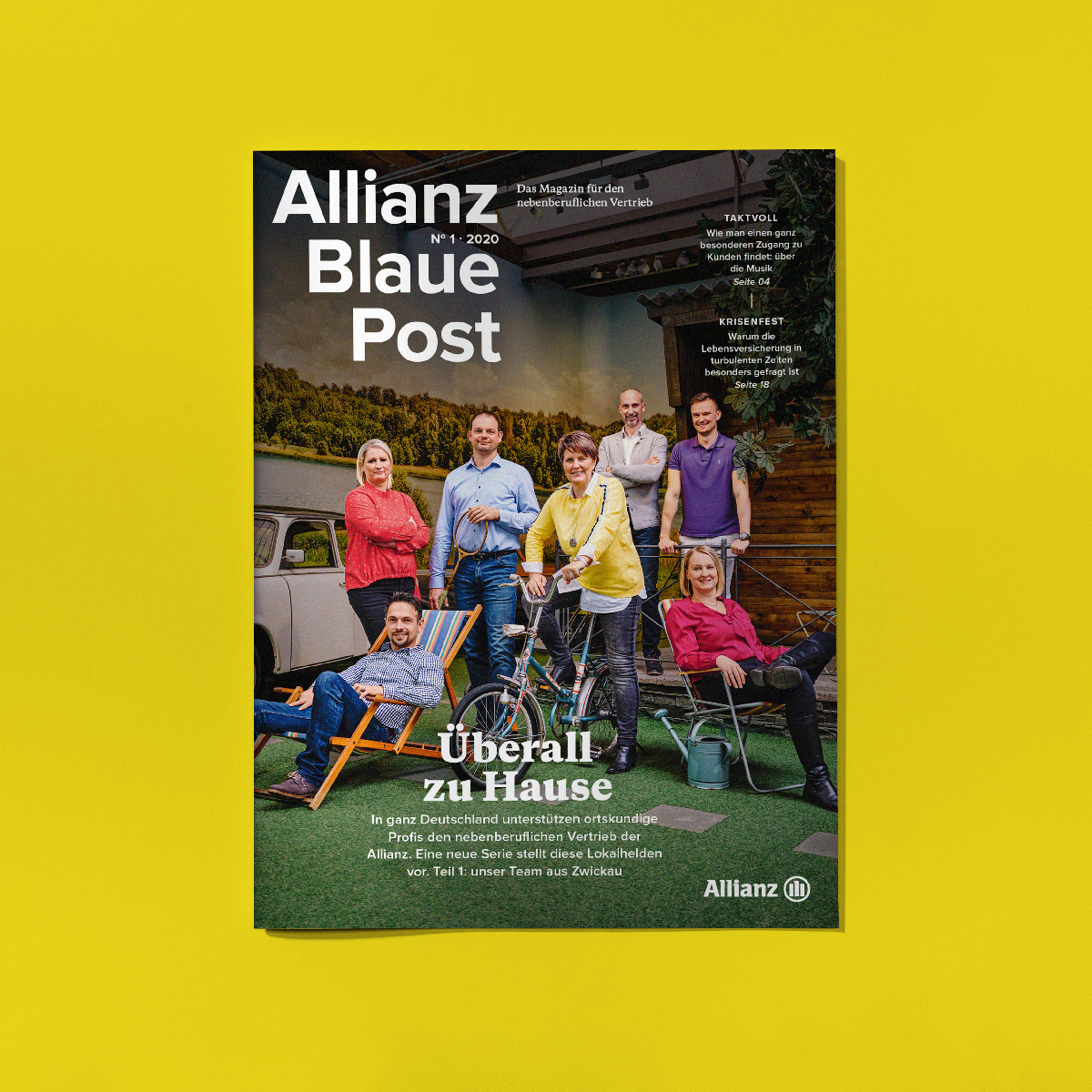 "Magazin ""Allianz Blaue Post"""